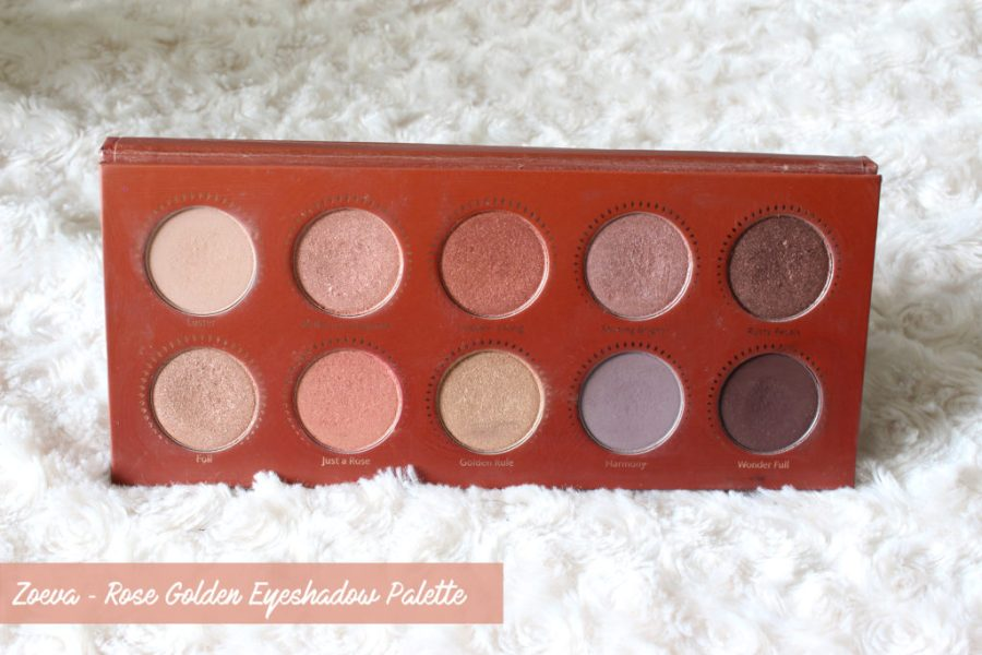Zoeva ✻ Rose Golden Palette