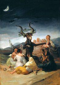 """""""Aquelarre"""", Francisco Goya"""