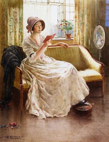 A_Quiet_Read_by_William_Kay_Blacklock