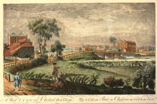 west-view-of-chelsea-bridge 1790brit museum