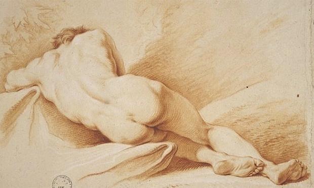 Jacques-Dumont-le-Romain--007 Naked man sleeping