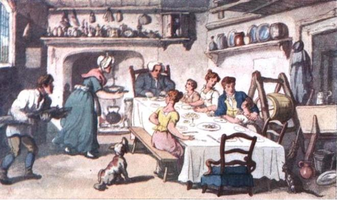 vicar-of-wakefield-mr-burches-first-visit-rowlandson1