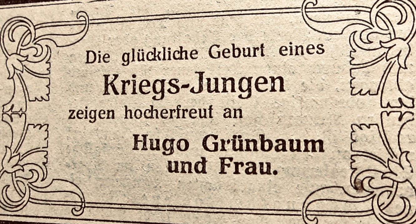 Die Familie Hugo U Klara Geb Schloss Grunbaum Ihre Stimmen