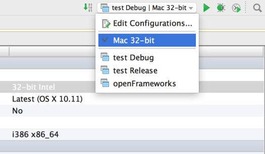 Run configurations now say 32 bit. Yay!