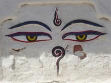 Les yeux du Bouddha