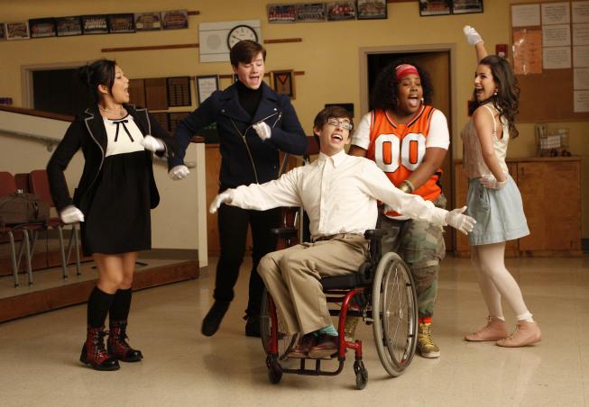 Glee's multiracial, multiethnic, multisexual cast