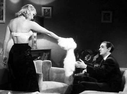 Barbara gives her fiance, Glen, her angora sweater in Glen or Glenda?
