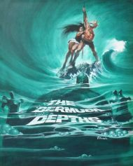 Theatrical Poster for THE BERMUDA DEPTHS