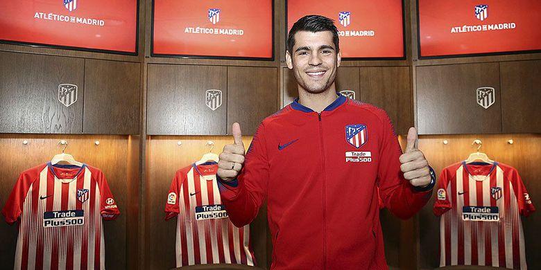 Salah Satu Clup Atletico Madrid Resmi Mendatangkan Pemain Alvaro Morata