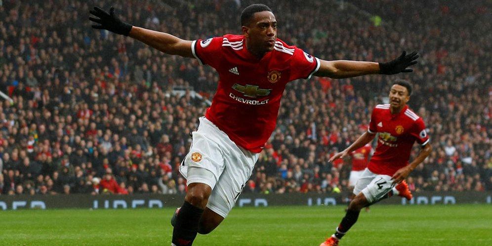 Pemain Bintang Club Manchester United Anthony Martial Akan Segera Teken Kontrak Baru