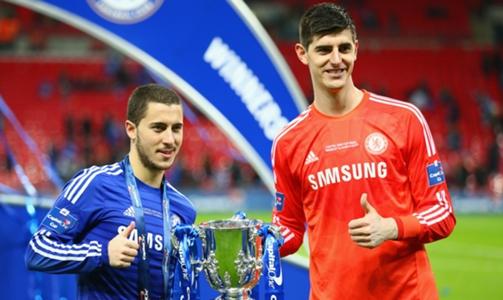 Penjaga Gawang Club Real Madird Courtois Dikabarkan Akan Menunggu Kedatangan Sang Pemain Eden Hazard di Santiago Bernabeu