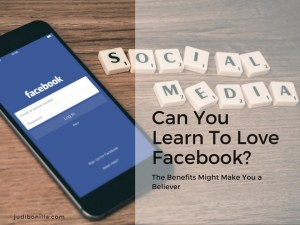Can You Learn To Love Facebook