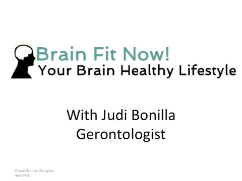 Brain Fit Now - Brain Health Program
