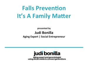 Fall Prevention with Judi Bonilla