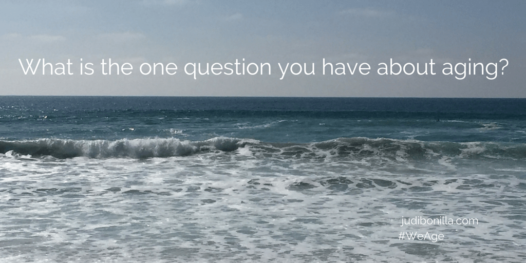 What is the one question you have about aging? On Anchor FM