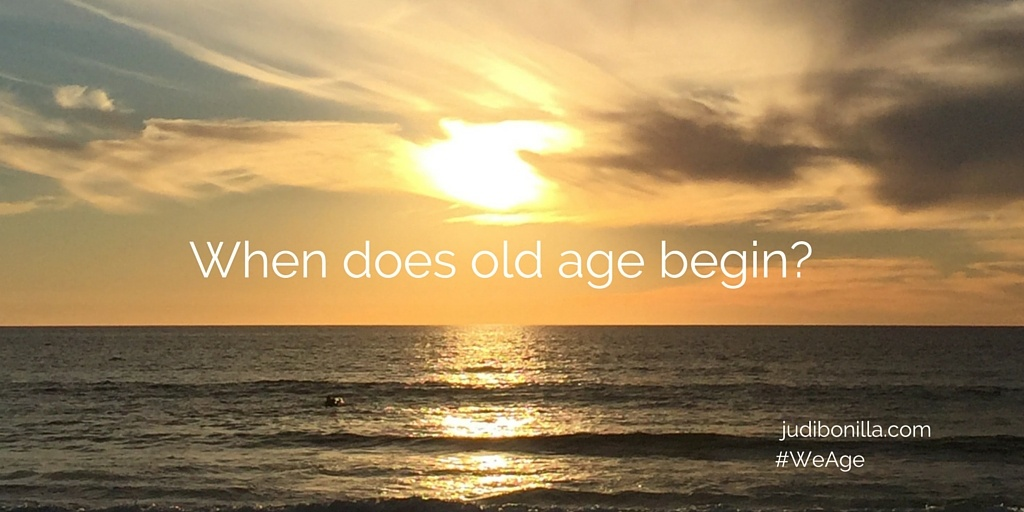 Questions About Old Age on #Anchor