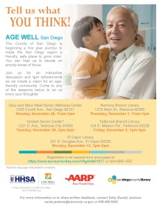 older adults and policymakers