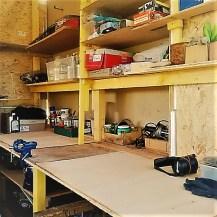Judi Castille Workshop bench
