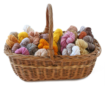 Food Dyed Wool