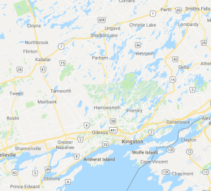 Map of weddings coverage area