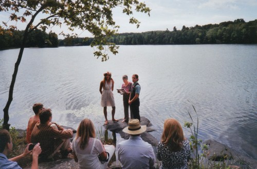 Wedding at the lake