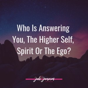 Spiritual development - Who is answering you?