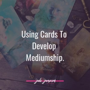 Using cards to develop mediumship abilities