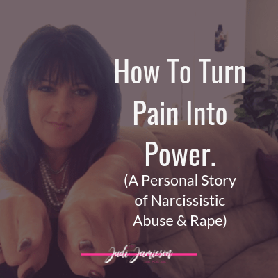 How to turn pain into power blog post