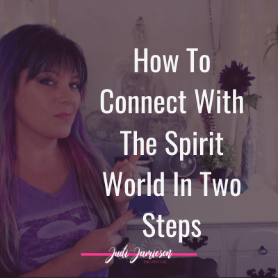 Connect with the spirit world in two steps