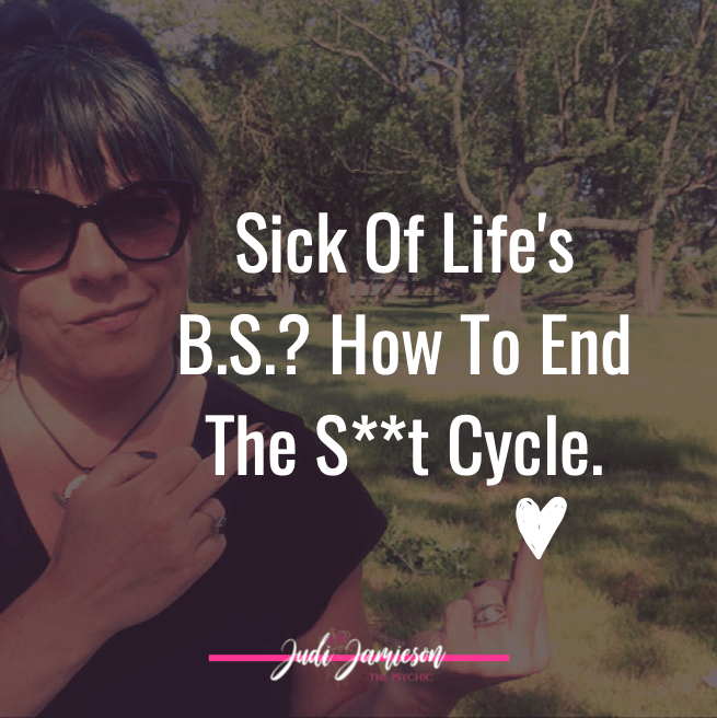 Sick of life – How to end the s**t cycle