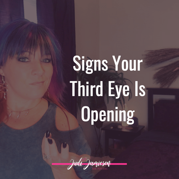 How do you know if your third eye is opening?