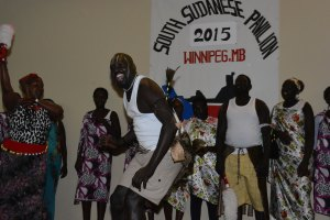 South Sudanese Pavilion. #Folklorama47 #WovenTogether - judimeetsworld