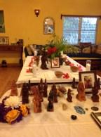 Altar at Rosita Arvigo's home