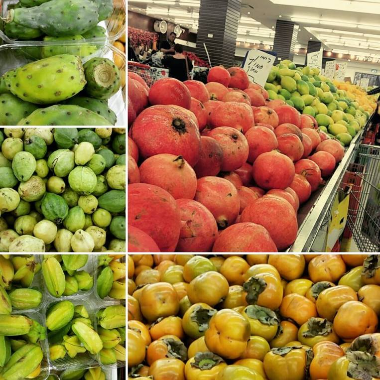 Some fruits in the arabic supermarket
