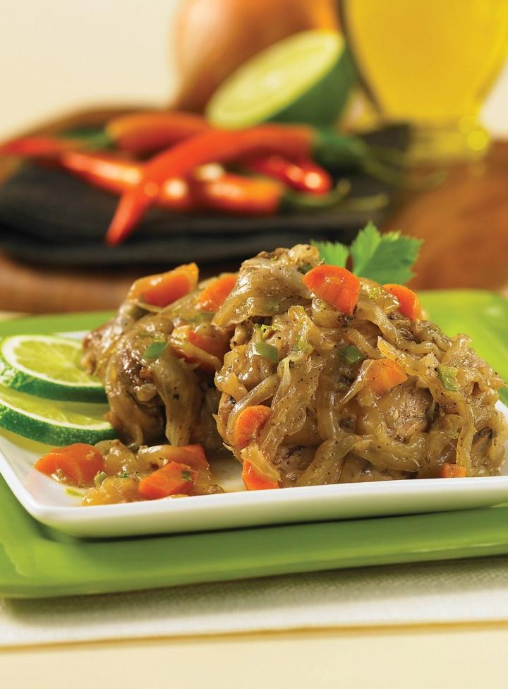 African-Style Chicken in Onion Gravy