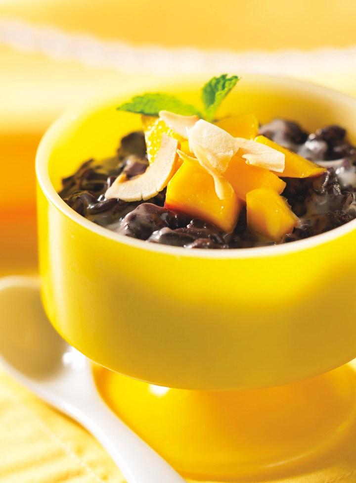 Black Sticky Rice Pudding(page 194)