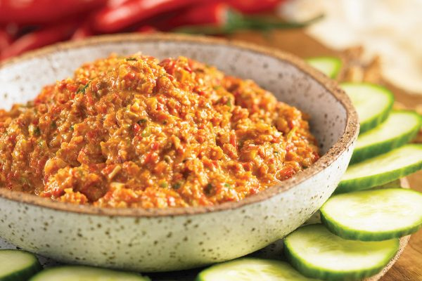 Middle Eastern Walnut Dip (Muhammara)