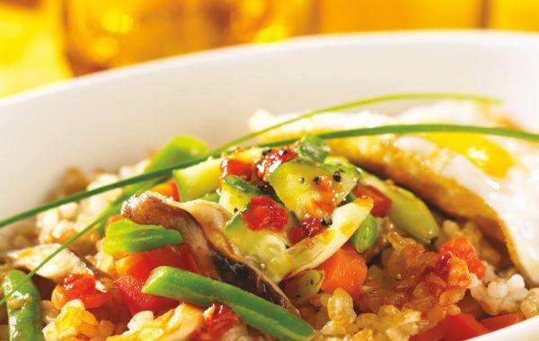 Korean-Style Rice Bowl (page 164)