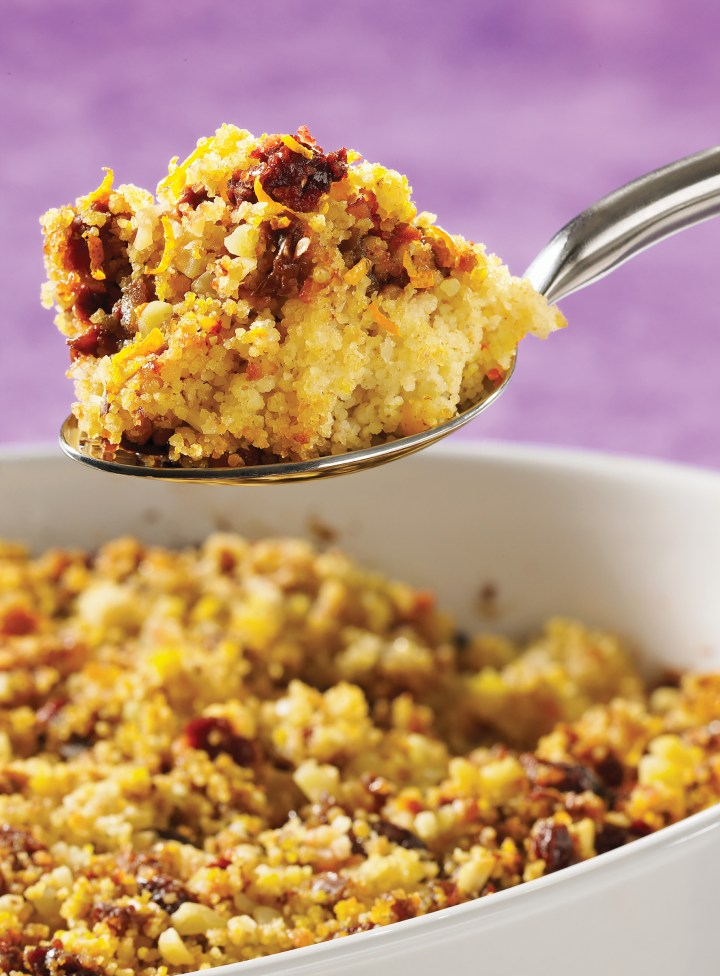 Moroccan-Style Couscous Stuffing
