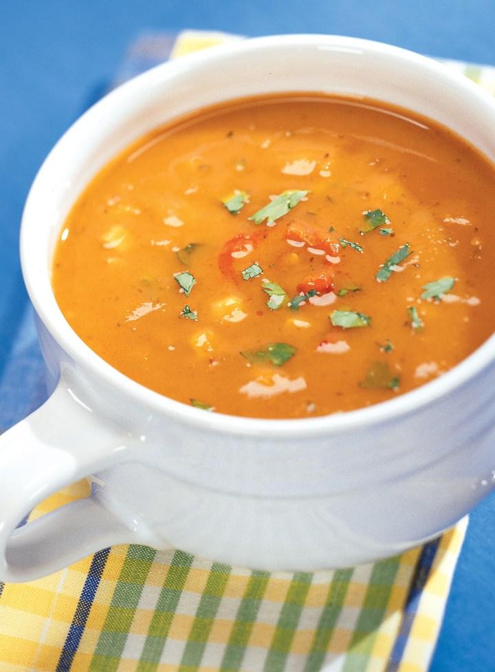 Santa Fe Sweet Potato Soup