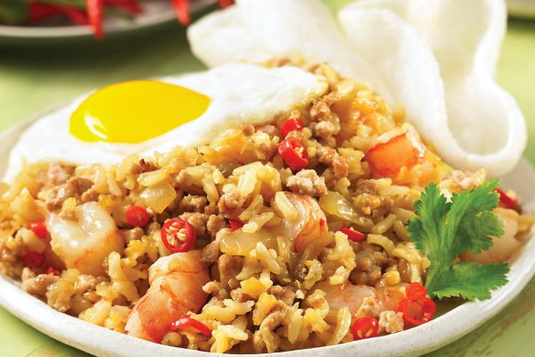 Indonesian-Style Fried Rice (Nasi Goreng)