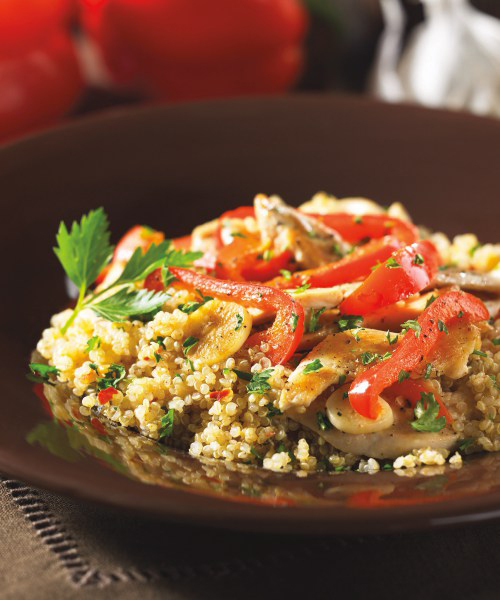 Peppery Chicken Quinoa (page 104)
