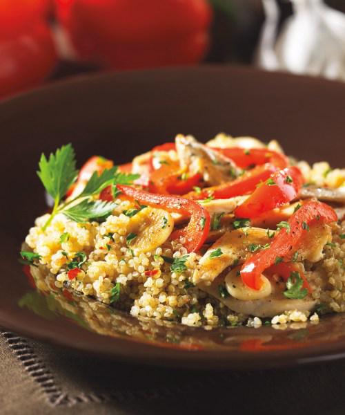 Peppery Chicken Quinoa(page 104)