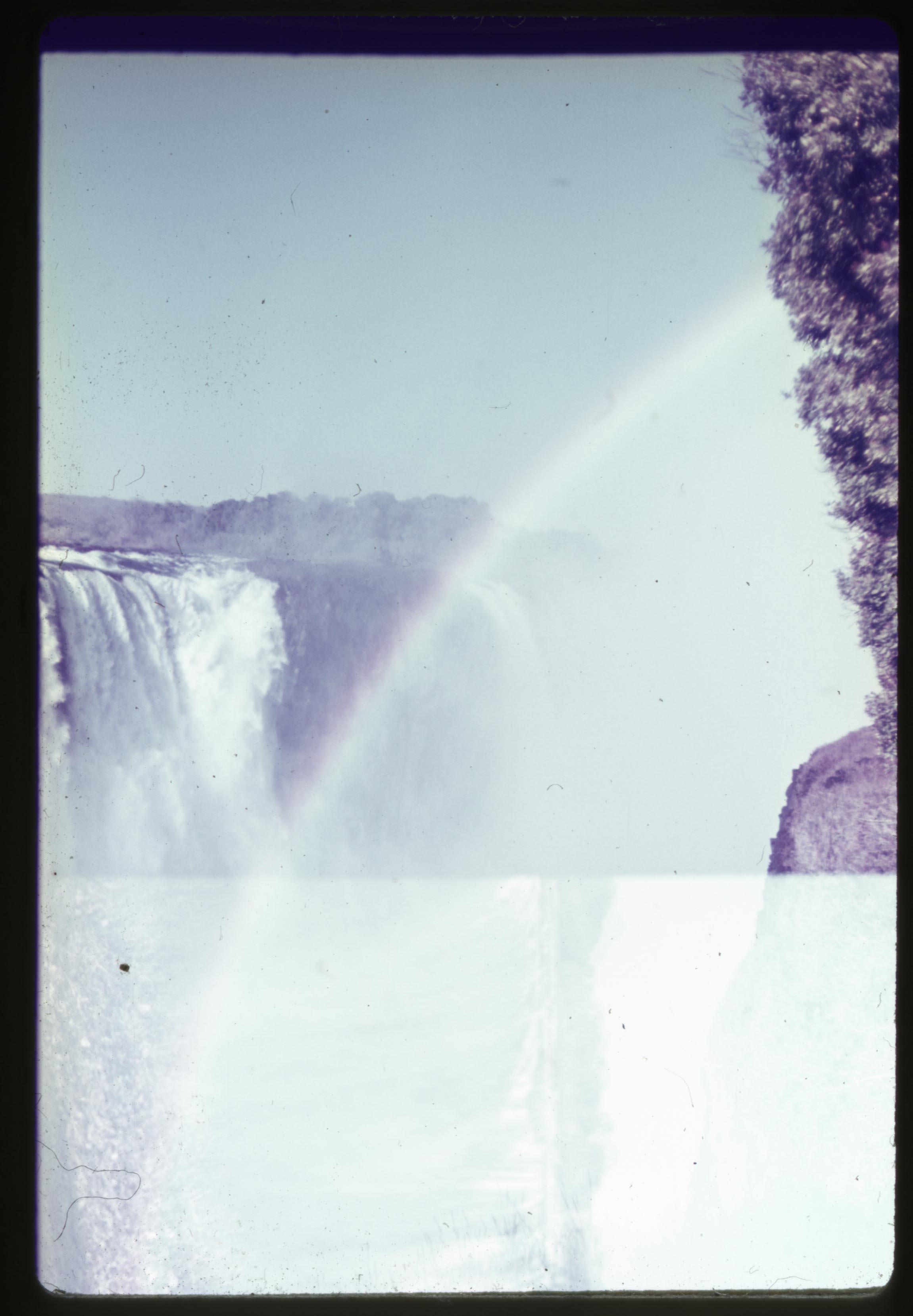Rainbow Victoria Falls 1966