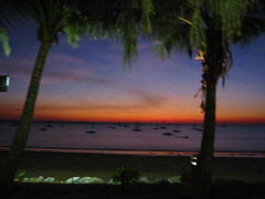 Sunset from Darwin Yacht Club