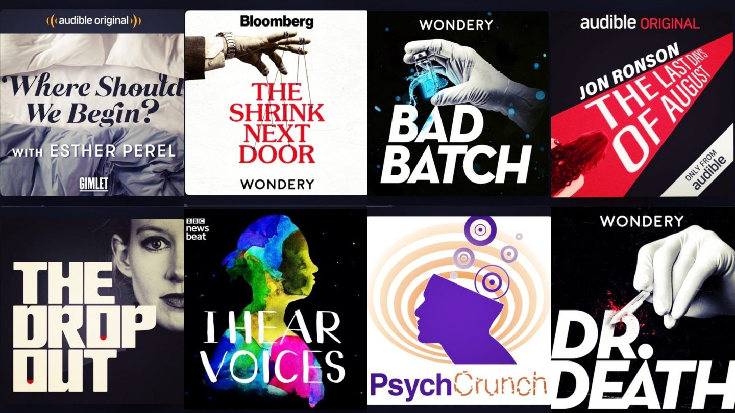 Top healthcare and psychology podcasts from 2019