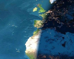 The Darkness approaching the UK