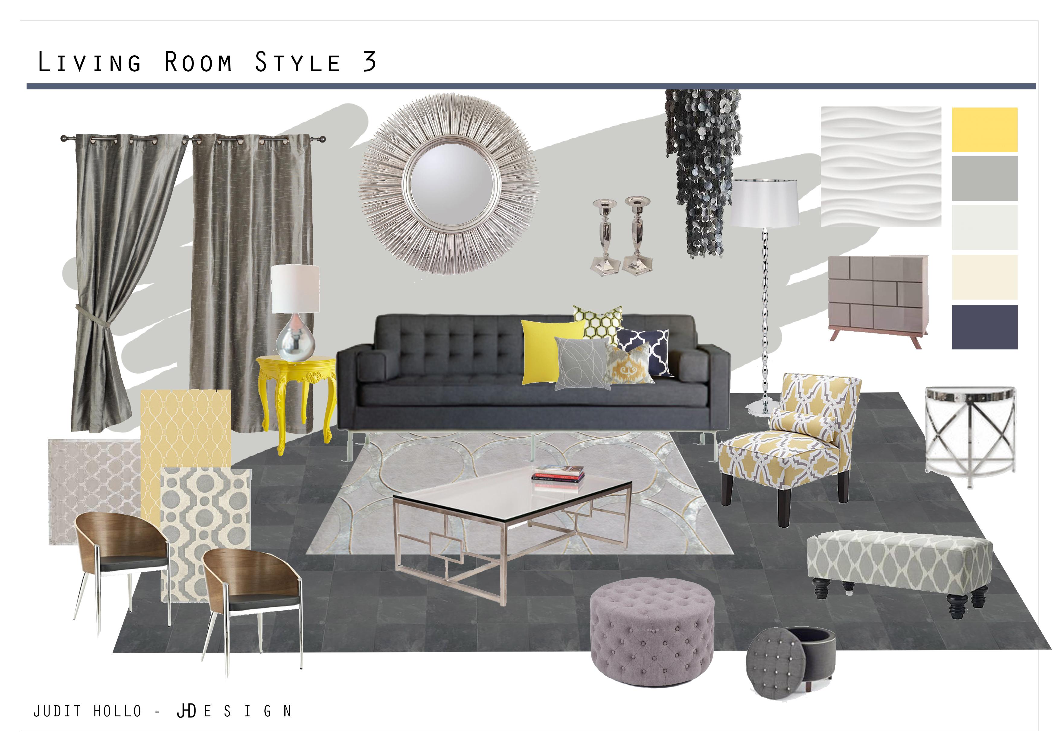 Living Room And Master Bedroom Mood Board Judit Hollo