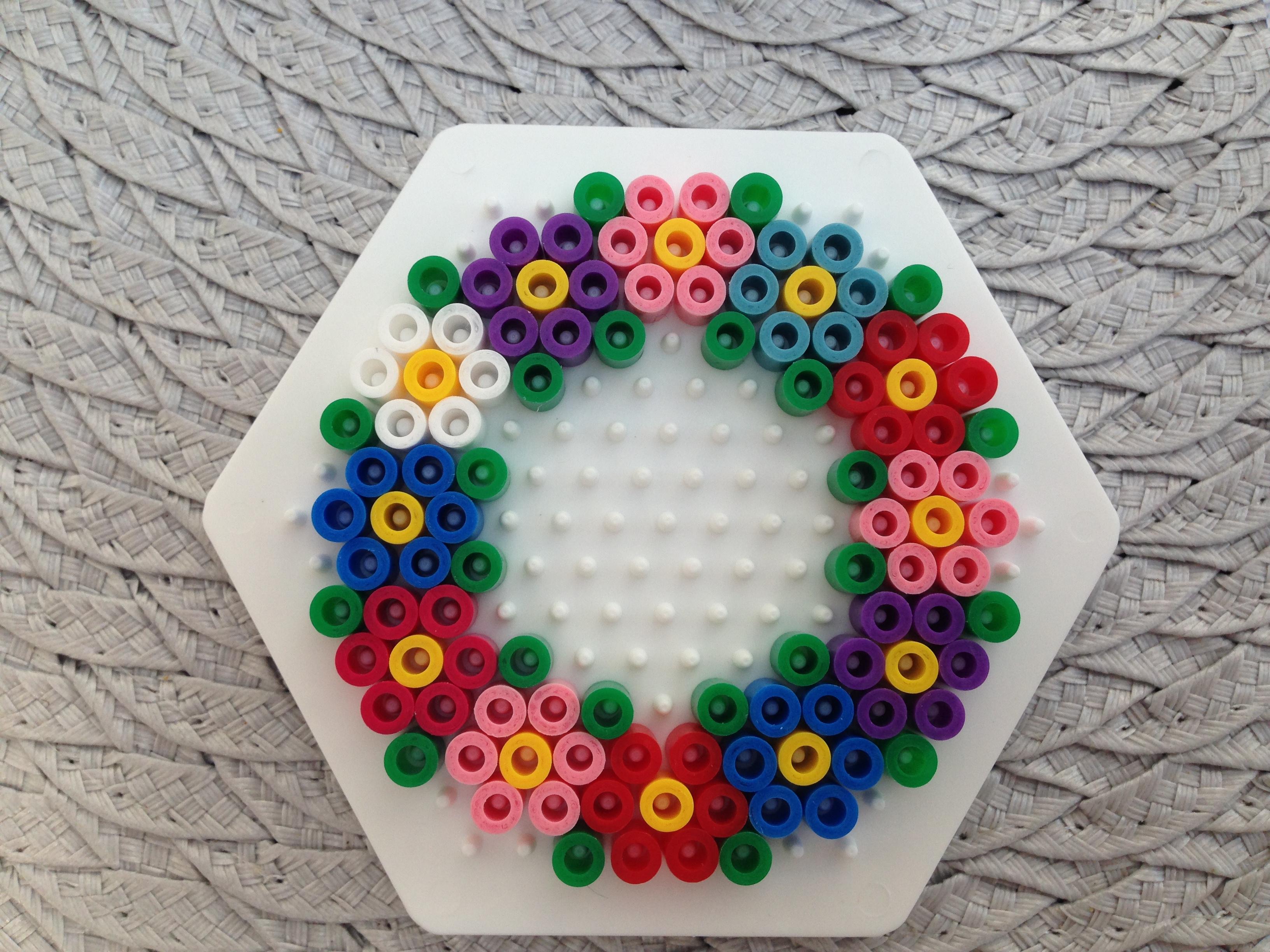 Hama Bugelperlen Stiftplatte Blume Online Kaufen Preis 1 79