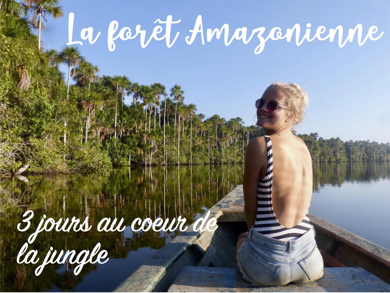 Excursion en Amazonie Péruvienne